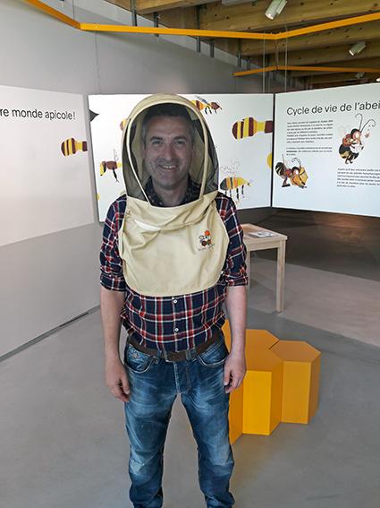 Exposition sur les abeilles